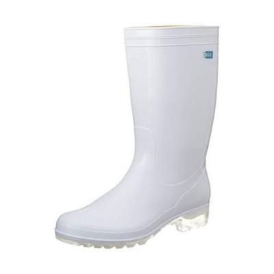 ノーブランド 商品コード:8583800 アキレス 長靴 タフテックホワイト62(透明底)白 23.5cm
