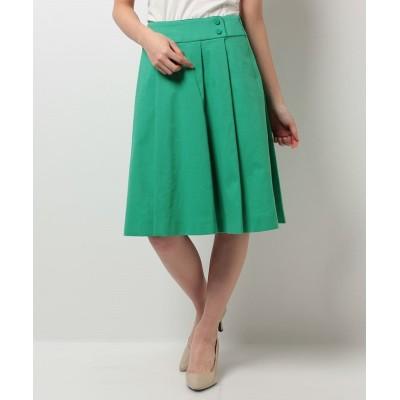 【ピッコラドンナ】 アートピケスカート レディース グリーン系 1号(7号) Piccola Donna
