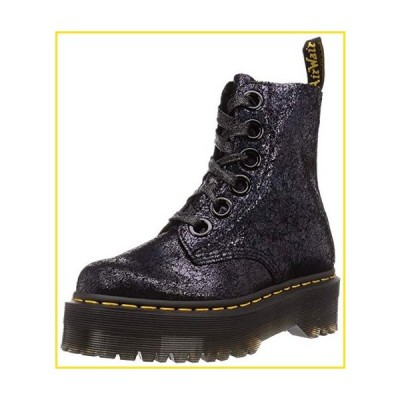 新品Dr. Martens Women's Molly Boots, Black, 9 Medium US並行輸入品