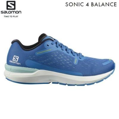 サロモン SALOMON ランニングシューズ ソニック4 バランス SONIC 4 Balance PALACE BLUE/WHITE/EVENING PRIMROSE L41280000