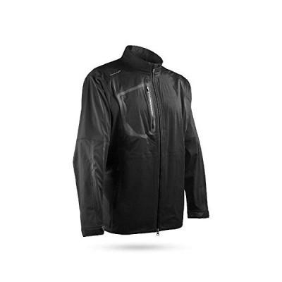 Sun Mountain 2019 Men's Elite Golf Jacket Black X-Large【並行輸入品】