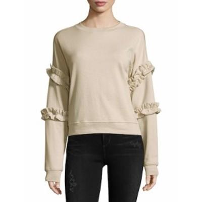 フォーザリパブリック レディース トップス シャツ Crewneck Long-Sleeve Cotton Top