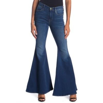 フレーム レディース デニムパンツ ボトムス Le High Super Flare Leg Jeans CANTINE