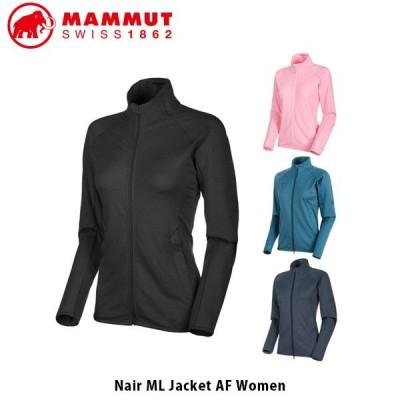 マムート MAMMUT レディース ジャケット Nair ML Jacket AF Women アウター 長袖 吸水拡散性 速乾 ストレッチ素材 アウトドア 1014-00551 MAM101400551