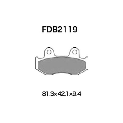スクーター FERODO(フェロード) FDB2119AG