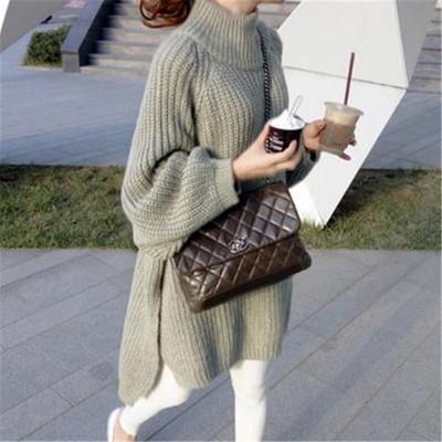 冬らしさをアピール❤ほっこり暖かいタートルネックぼかしニット  セーター ニットセーター メリヤス 可愛い 品質いいな新品