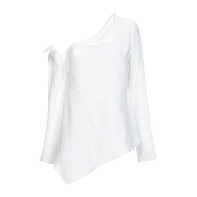 PROENZA SCHOULER ブラウス  レディースファッション  トップス  シャツ、ブラウス  長袖 ホワイト