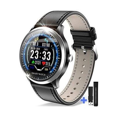 【令和モデル】 スマートウォッチ 最新版 光学式心拍センサー スマートブレスレット 歩数計 活動量計 IP67防水 消費カロリー カラースクリーン 腕