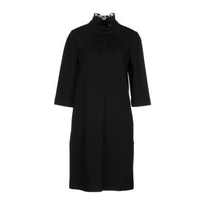 ブルーガール ブルマリン BLUGIRL BLUMARINE ミニワンピース&ドレス ブラック 42 70% レーヨン 25% ナイロン 5% ポリ