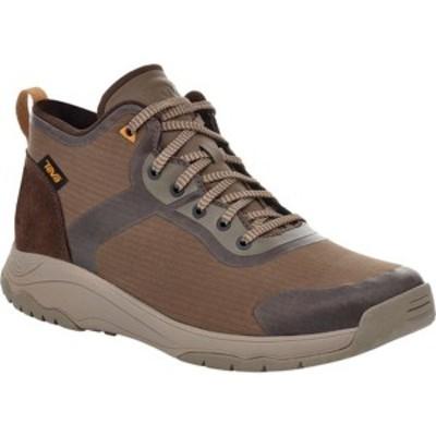 テバ メンズ ブーツ&レインブーツ シューズ Gateway Mid Hiking Sneaker Chocolate Chip Recycled Polyester/Suede