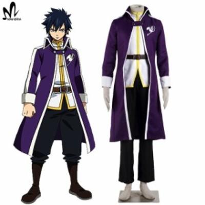 高品質 高級コスプレ衣装 フェアリーテイル 風 グレイ・フルバスター タイプ オーダーメイド Fairy Tail Gray Fullbuster cosplay