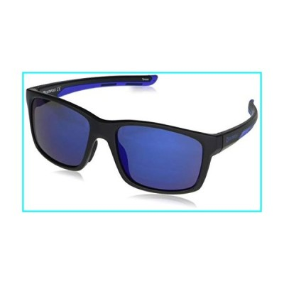 Southpole Men's 5043SP Vintage Rectangular Sunglasses with 100% UV Protection, 55 mm