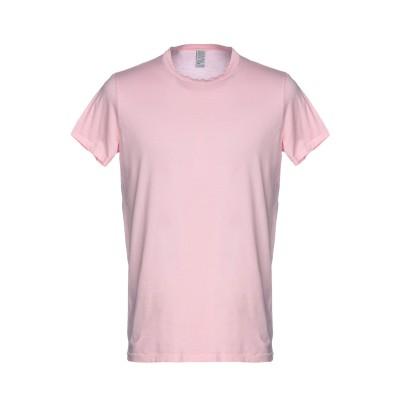 AUTHENTIC ORIGINAL VINTAGE STYLE T シャツ ピンク XL コットン 100% T シャツ