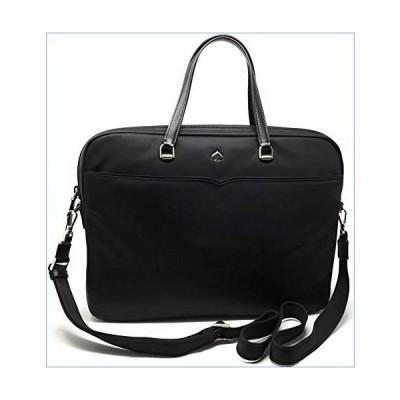 Kate Spade New York Laptop Tote Bag, Fits 15 Inch Laptop, Womens Lightweight Nylon Tote Bag Shoulder Bag (Black 001)並行輸入品