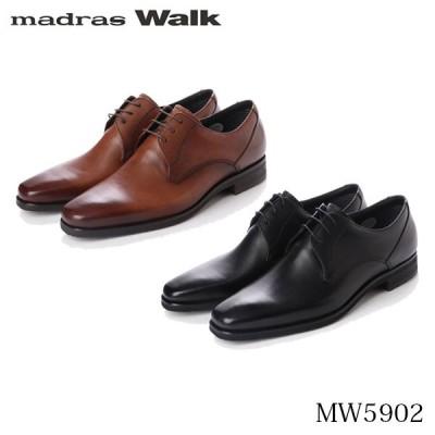 マドラスウォーク madras Walk メンズ ビジネスシューズ ゴアテックス スクエアトウのプレーントウ ビジネスシューズ MW5902 MADMW5902 国内正規品