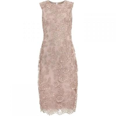 フェイズ エイト Phase Eight レディース ワンピース ワンピース・ドレス Teresa 3D Metallic Lace Dress Mauve