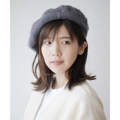 帽子 【honky tonk/ホンキートンク】アンゴラベレー帽 (オリジナルバッグ付)