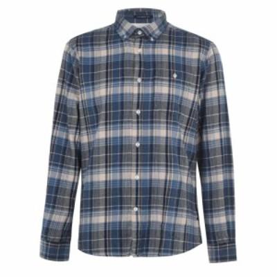 バブアー Barbour International メンズ シャツ トップス B. MQ Rider Shirt Sn02 Blue BL