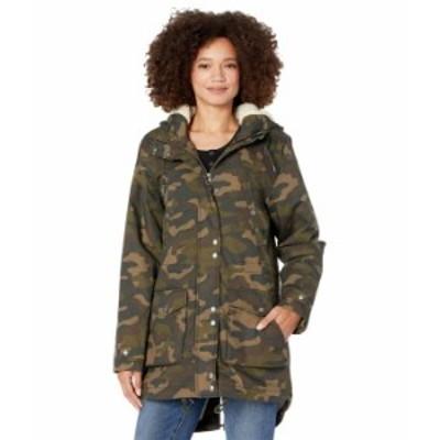ボルコム レディース コート アウター Walk On By 5K Nuts Camouflage
