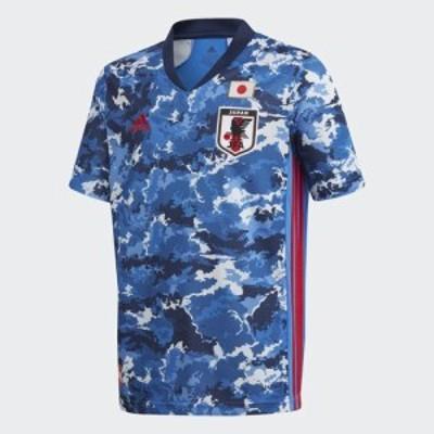 アディダス adidas サッカー日本代表 2020 キッズ ホーム レプリカ ユニフォーム / JAPAN HOME KIDS JERSEY トゥルーブルー GEM06 ED7345