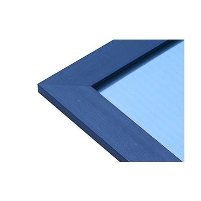 幅広パズルフレーム フラットパネル マリンブルー(26x38cm)