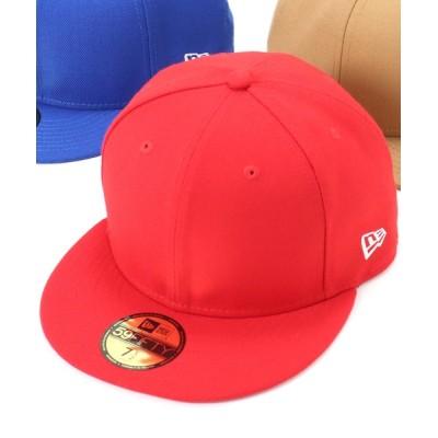 帽子屋ONSPOTZ / ニューエラ キャップ 59FIFTY ベーシック NEW ERA MEN 帽子 > キャップ