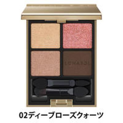 カネボウ化粧品LUNASOL(ルナソル) アイカラーレーション 02(ディープローズクォーツ)