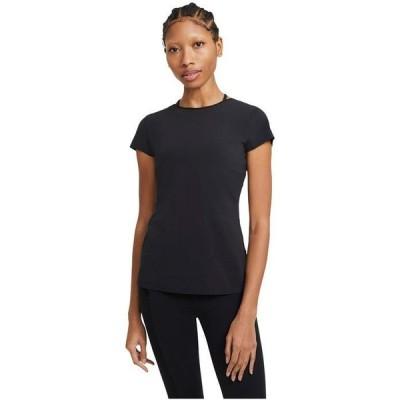 ナイキ レディース シャツ トップス The Yoga Luxe Short Sleeve Top