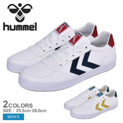 ヒュンメル スニーカー メンズ スタディール 3.0 スエード HUMMEL HM208052 ブラック 黒 ホワイト 白 メンズ シューズ 靴 軽量