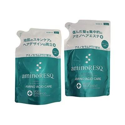 aminoRESQ アミノレスキュー モイスト シャンプー&トリートメント詰替セット