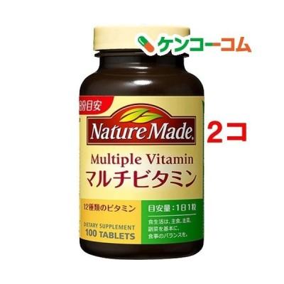 ネイチャーメイド マルチビタミン ( 100粒入*2コセット )/ ネイチャーメイド(Nature Made)