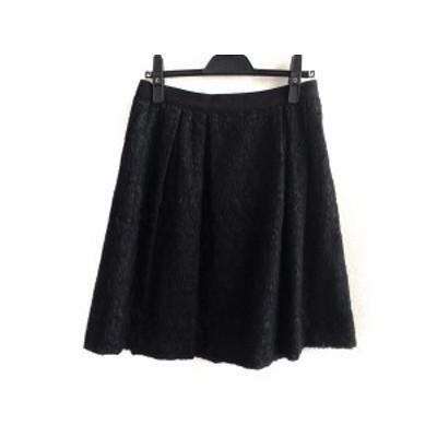 ジャンバティスタヴァリ GiAMBATTiSTA VALLi ミニスカート サイズS レディース - 黒【中古】20201011
