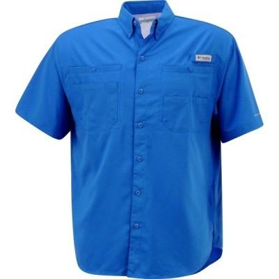 コロンビア シャツ トップス メンズ Columbia Sportswear Men's Tamiami II Shirt Vivid Blue