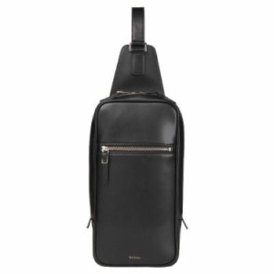 ポールスミス Paul Smith 正規品 シティエンボス レザー ボディバッグ ショップバッグ付き 本革 バッグ