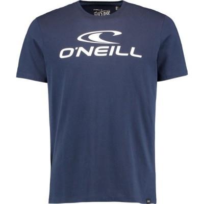 オニール ONeill メンズ Tシャツ ロゴTシャツ トップス Large Logo T Shirt Ink Blue