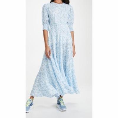 リキソ RIXO レディース ワンピース ワンピース・ドレス Agyness Dress Pebble Shell Blue