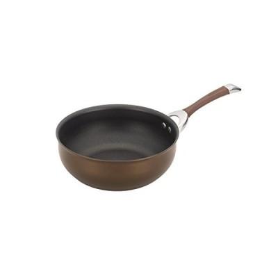 Circulon 82899 Symmetry Hard Anodized Nonstick Frying Pan/ Fry Pan/ Saute Pan/ Chefpan - 4.5 Quart, Chocolate【並行輸入品】
