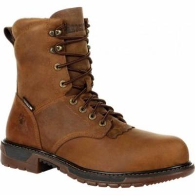 ロッキー Rocky メンズ ブーツ ウエスタンブーツ シューズ・靴 Original Ride FLX CT WP Western Boot RKW0324 Sandy Brown Full Grain L