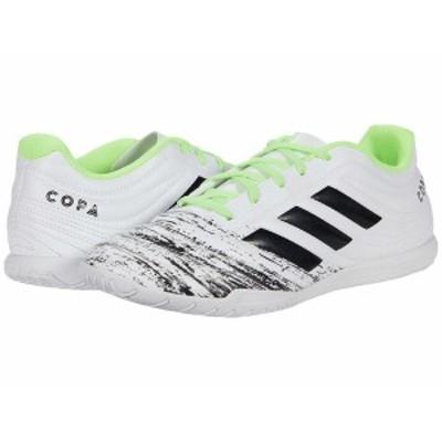 アディダス メンズ スニーカー シューズ Copa 20.4 IN Footwear White/Core Black/Signa Green