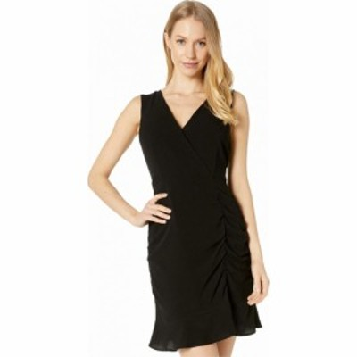 ビービーダコタ BB Dakota レディース ワンピース ワンピース・ドレス Ruched Behavior Rayon Crepe Cross Front Dress with Scrunched S