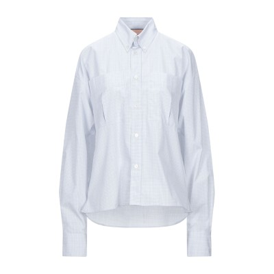 PLAN C シャツ ホワイト 38 コットン 100% シャツ