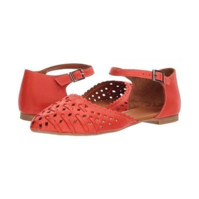 Spring Step スプリングステップ レディース 女性用 シューズ 靴 フラット Junita - Red