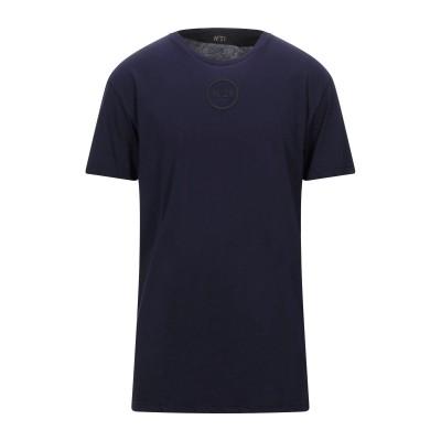 ヌメロ ヴェントゥーノ N°21 T シャツ ブルー S コットン 100% T シャツ