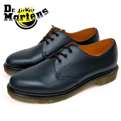 Dr.Martens ドクターマーチン3EYE SHOE 1461PW 3ホール シューズ(10078410) ネイビー メンズシューズ 革靴 カジュアル ビジネス 紳士靴