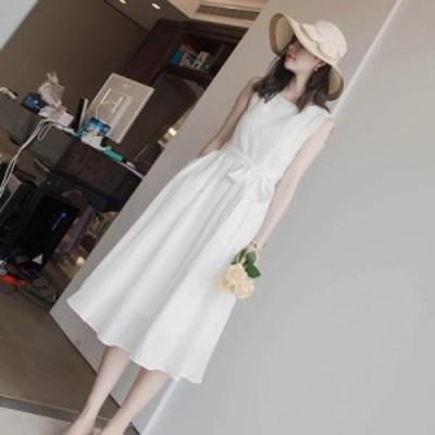 ワンピース レディース 40代ワンピース 夏ワンピース きれいめ 白ワンピース フレアスカート オシャレ 結婚式ドレス お出かけ 上品  おし