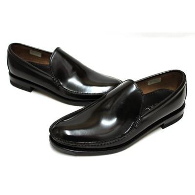 リーガル REGAL 靴 メンズ ビジネスシューズ 15DR BC  本革 ヴァンプ スリッポン  ブラック