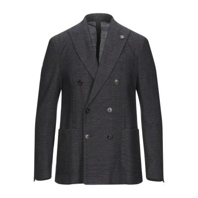 ラルディーニ LARDINI テーラードジャケット ダークブルー 52 ウール 90% / ナイロン 10% テーラードジャケット