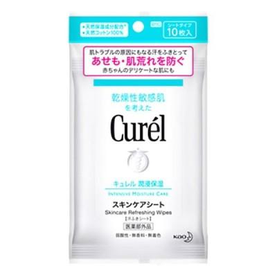 【医薬部外品】 花王 キュレル スキンケアシート 10枚入