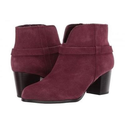 MIA エムアイエー レディース 女性用 シューズ 靴 ブーツ アンクルブーツ ショート Franzie - Burgundy