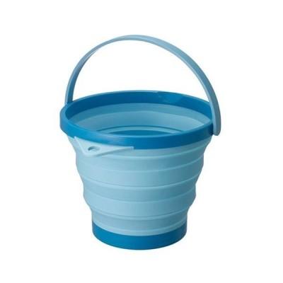 伊勢藤 ソフトバケツ 8型 ブルー